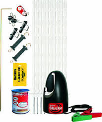 Electric Fence Strip Grazing Horse Starter Kit 100m 5021385003948 Ebay