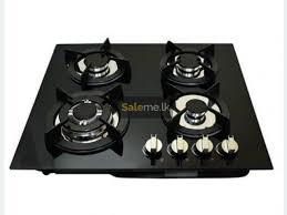 kitchex 4 burner glass top gas hob