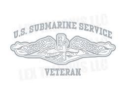 United States Submarine Service Decals