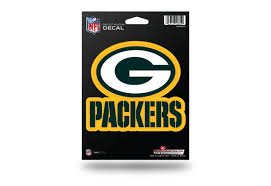 Nfl Football Green Bay Packers Window Decal Sticker Officially Licensed Custom Sticker Shop