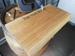 Solid Oak James Martin Style Chunky Chopping Board With Live Edge