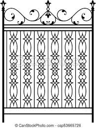 Wrought Iron Gate Door Fence Window Grill Railing Design
