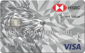 hsbc smart value credit card check