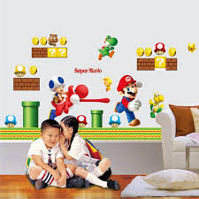 Diy Super Mario Bros Wall Decal The Decal House