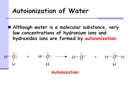 autoionization of water powerpoint