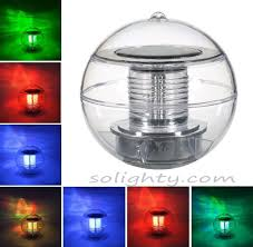 solar floating lights for pool outdoor