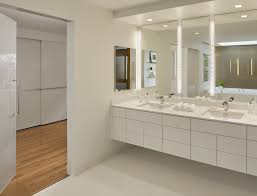 bathroom contemporary with led strip