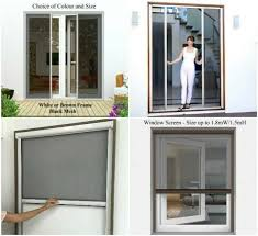 diy retractable fly screen door