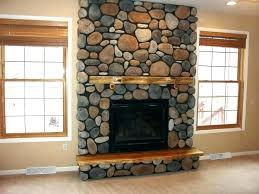 stone hearth wood stove with vinyl