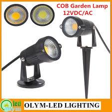 ip68 cob 5w led garden light 12v