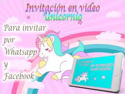 Tarjeta De Cumpleanos De Unicornio Para Nina Noticias Ninos