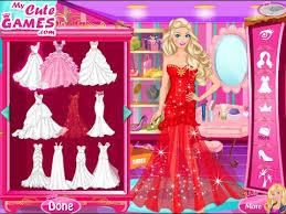 wedding dress up and makeup games
