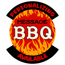 Personalized Bbq Vinyl Stickers At Retro Planet