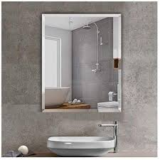 beauty4u rectangular shatterproof wall