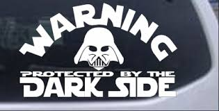 Star Wars Darth Vader Dark Side Car Or Truck Window Laptop Decal Sticker Ebay