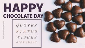 happy chocolate day 🍫 quotes gifts ideas for her him