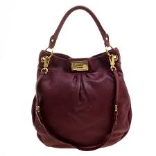 leather classic q hillier hobo marc
