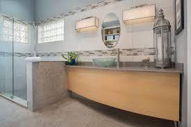 orlando glass vessel sinks bathroom