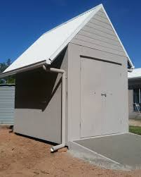 how to build a steel framed garden shed