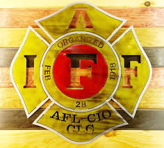 Fire Fighters International Association Iaff Red Vinyl Sticker Decal Afl Sizes