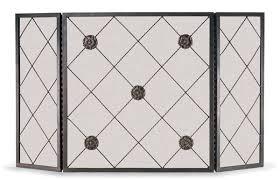 pilgrim rosettes 3 fold screen 51 wx28