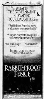 Rabbit Proof Fence Review Photos Ozmovies