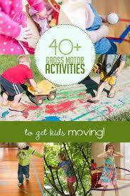40 gross motor activities to get kids