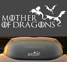 Amazon Com 9 Game Of Thrones Mother Of Dragons Car Window Laptop Vinyl Decal Sticker Handmade