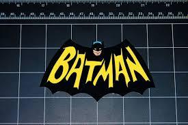 Batman Retro Bat Wing Logo Vinyl Decal Sticker Comic Bo