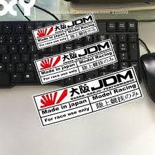 Xy Car Stickers For Japanese Style Jdm Osaka Performance Car Motorcycle Sticker Decals Reflective Type A Motorcycle Stickers Racing Stickers Car Sticker Design