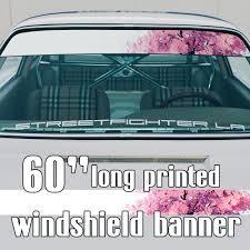 Buy 60 Cherry Blossom Tree Jdm Japanese Style Stance Sun Strip Printed Windshield Car Vinyl Sticker Decal