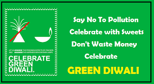 diwali eco friendly slogans images say no to crackers celebrate