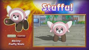 Pokemon Sun/Moon trailer reveals Sandygast, Palossand, and Stufful ...