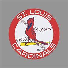 Amazon Com Purtuy St Louis Cardinals 9 Team Logo Vinyl Decal Sticker Window Wall Home Kitchen