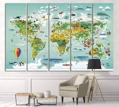 Kids Room Ideas Zellart Canvas Prints