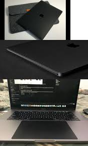 Keyboard Protectors 158837 D Brand Skin Macbook Pro 15 4 Touch Bar Black Leather Buy It Now Only 45 On E Macbook Pro 15 Macbook Pro Newest Macbook Pro