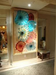 beverly albrets blown glass wall art