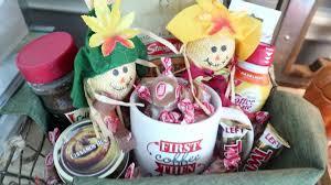 dollar tree diy fall gift basket