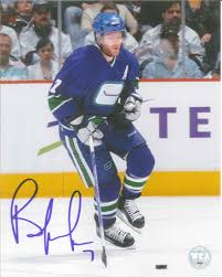 Brendan Morrison Autographed Vancouver Canucks 8 x 10 Photo - Westcoast  AuthenticWestcoast Authentic
