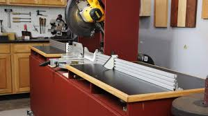 Miter Saw Fence System The Perfect Wood Shop Helper Infinity Cutting Tools Blog