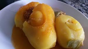 patatas rellenas de picadillo de
