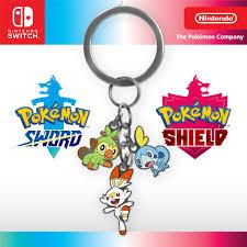 Pokémon Sword and Shield – Charm Keychain