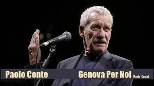 Genova Per Noi – Paolo Conte - YouTube