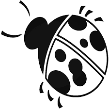 Lady Bug 2 Vinyl Decal Sticker