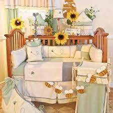 sunflower bee themed nursery chris