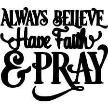 Always Believe Have Faith Pray Wall Decal Philippians 413 Creations