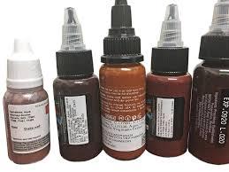 permanent makeup pigments vs tattoo ink