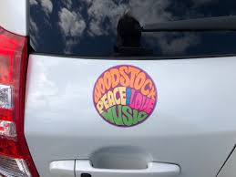 Mary S Review Of Woodstock Hippie Circle Sticker