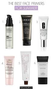 face primers for long lasting summer makeup