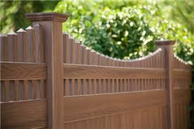 Grand Illusions Wood Grain Color Pvc Fence Options In Ri Ma